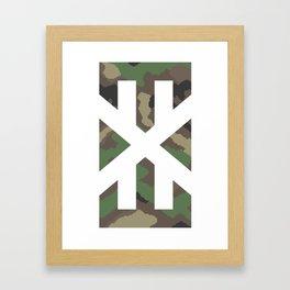 pixelcamo.exe Framed Art Print