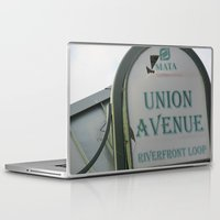 memphis Laptop & iPad Skins featuring Untitled, Memphis by Anna Baglione