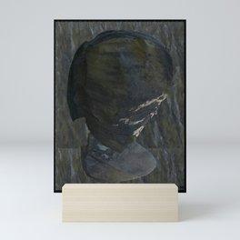 Faces In The Rock, Kakahu Mini Art Print