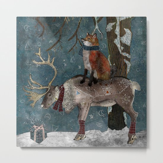 Winter Tale Metal Print