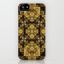 Fractal Art - Egypt Pattern iPhone Case