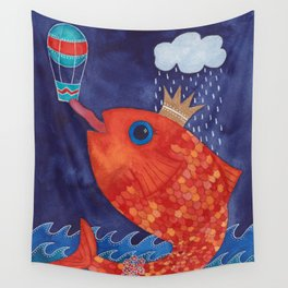 Something's Fishy Wall Tapestry