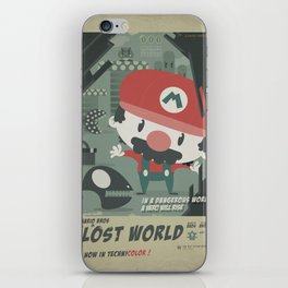 mario bros 4 fan art iPhone Skin