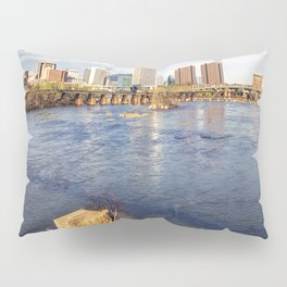 Richmond and the James River Pillow Sham