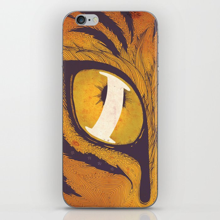"""""""I"""" of the Tiger iPhone Skin"""