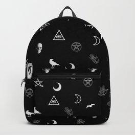 Goth Symbols Pattern Backpack