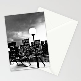 Mono-Chrome City Stationery Cards