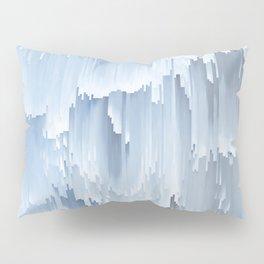 Waterfall glitch Pillow Sham