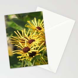 summer gold - bright yellow blooming Stationery Cards