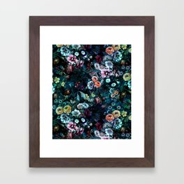 Night Garden Framed Art Print