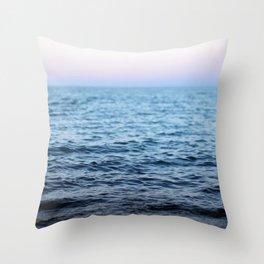 At Rest - a sunset Throw Pillow
