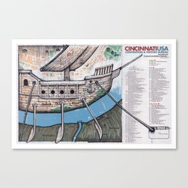 CINCINATTI, OHIO Canvas Print