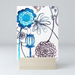 Blue-Seeded Mini Art Print