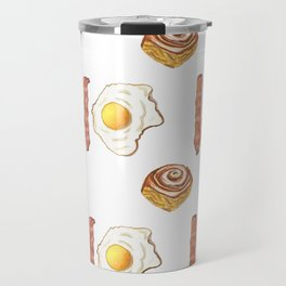 Bacon, eggs, and cinnamon buns Travel Mug
