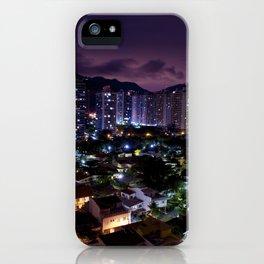 Purple Rio iPhone Case