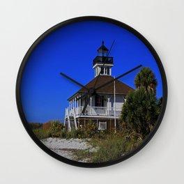 Boca Grande Lighthouse VII Wall Clock