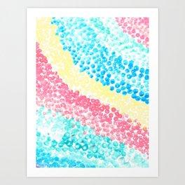 Fishy eggs Art Print