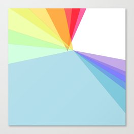 colorful life Canvas Print