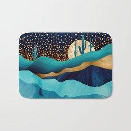 Indigo Desert Night Bath Mat