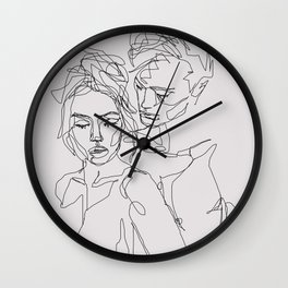 Other Half Wall Clock