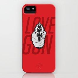 Love Gun iPhone Case