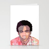 childish gambino Stationery Cards featuring Childish by Grace Teaney Art