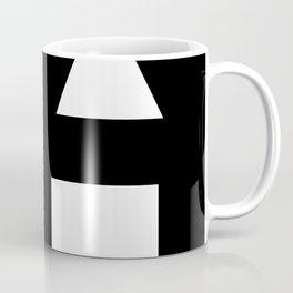 Minimal Shapes White Coffee Mug