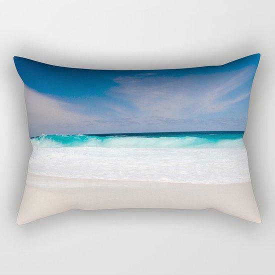 Mexico Waves Rectangular Pillow