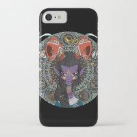 zodiac iPhone & iPod Cases featuring Zodiac : Capricorn by Det Tidkun