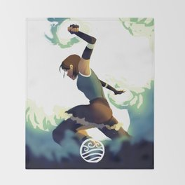 Avatar Korra II Throw Blanket