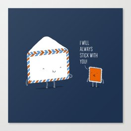 Stick with you Canvas Print
