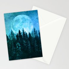 Moon Forest Stationery Cards