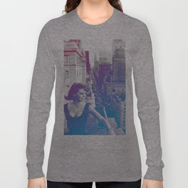 Natalie Wood Cityscape Long Sleeve T-shirt