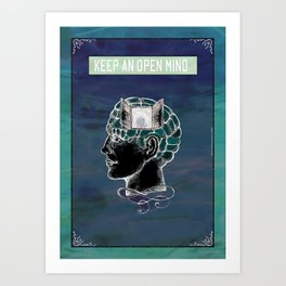 Keep an Open Mind- 1. Art Print