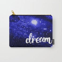 Blue Galaxy Dream Carry-All Pouch