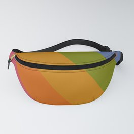 Rainbow Stripes /// pencilmeinstationery.com Fanny Pack
