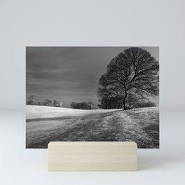 Mendip View Mini Art Print