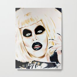 Sharon Needles Metal Print