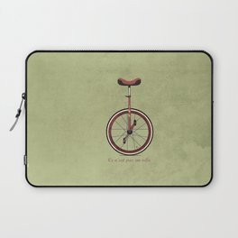 Unicycle Laptop Sleeve