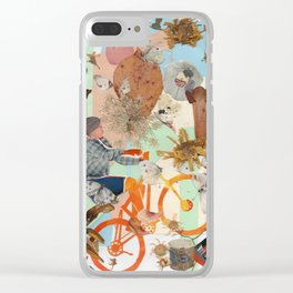 Bicycle. Clear iPhone Case