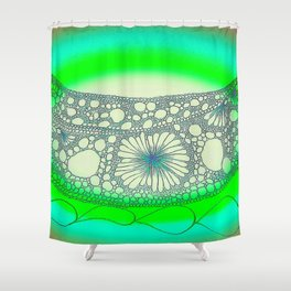 FISHING ON THE RIVERS OF AMERICA Shower Curtain