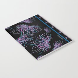 Purple Chrysanthemums Notebook
