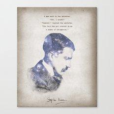 No Sense of Obligation Canvas Print