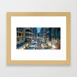 Fa Yeun St., Hong Kong 2 Framed Art Print