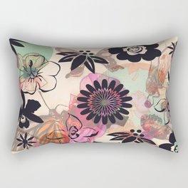 Muster/Pink/Blumen/Tiere/brittmarks Rectangular Pillow