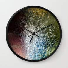 Glass Abstract Wall Clock