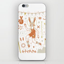 The Trickster iPhone Skin