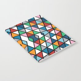 Geo Outline Colour Notebook