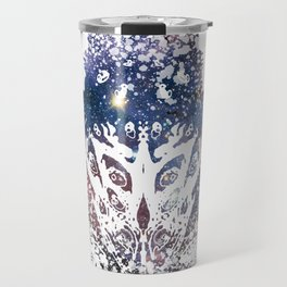 You don't see it until you do. Travel Mug