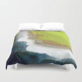 Surf Abstraction Duvet Cover
